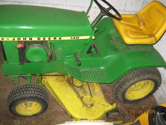 [DIAGRAM_5NL]  1974 John Deere 140 H1 Questions (pics)   My Tractor Forum   John Deere 140 Lawn Tractor Wiring Diagram      My Tractor Forum
