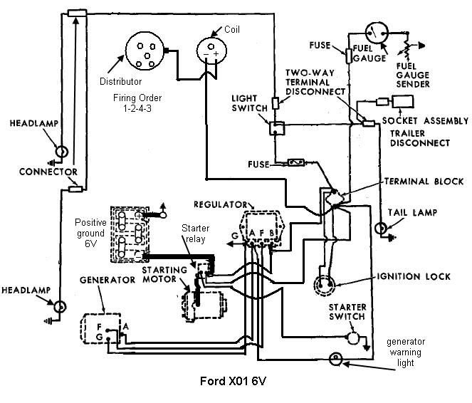 1961 Ford Series 2000 wiring | My Tractor Forum | Ford Tractor 6 Volt Fuel Gauge Wiring Diagram |  | My Tractor Forum