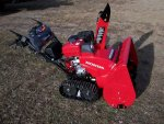Honda HSS928ATD Tracked snowblower