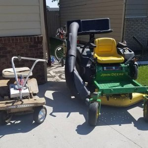 Then And Now 60 Years Of Mowing
