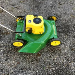 1974 John Deere Push Mower Restored