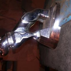 Right Side View Of My Mack Bull Dog Hood Ornament4