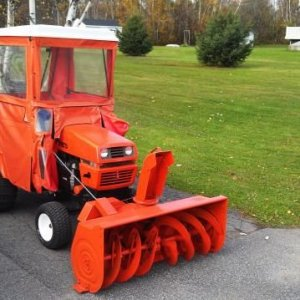Ariens With Snow Cab Installed 10.21.12 1