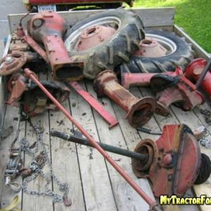 Farmall B from a pile of parts