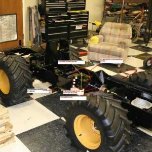 Some Construction Processes Of Articulating Tractor