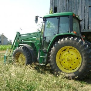 Some Of Our Tractors