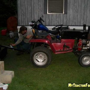 this is my other tractor
