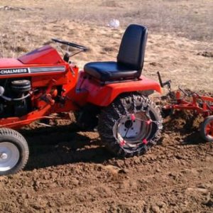 B110 And 209 Cultivator Test Run