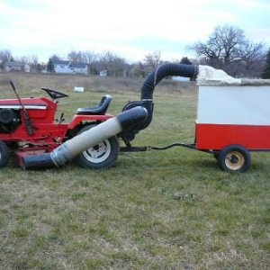 Allis Chalmers 716-6 With Turbo Vac And Cart