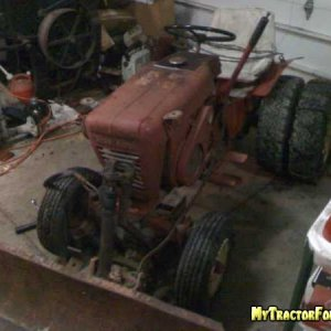 Wheel horse projects