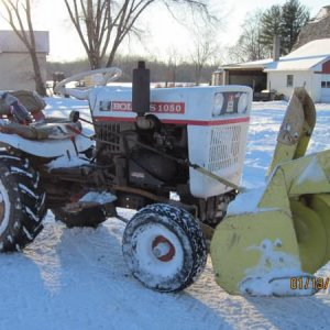 Bolens 1050 W/snowblower