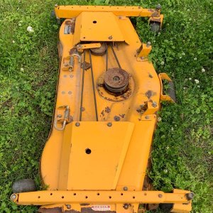 Cub Cadet 54GT mower deck I'll probably never use